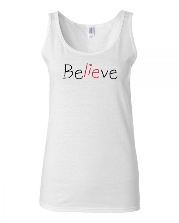 Believe - SoftStyle Tank Top