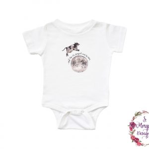 And The Cow Jumped Over The Moon - Nursery Rhyme Infant Romper