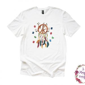 Autism Dream Catcher Puzzle Piece Anvil Unisex T-Shirts
