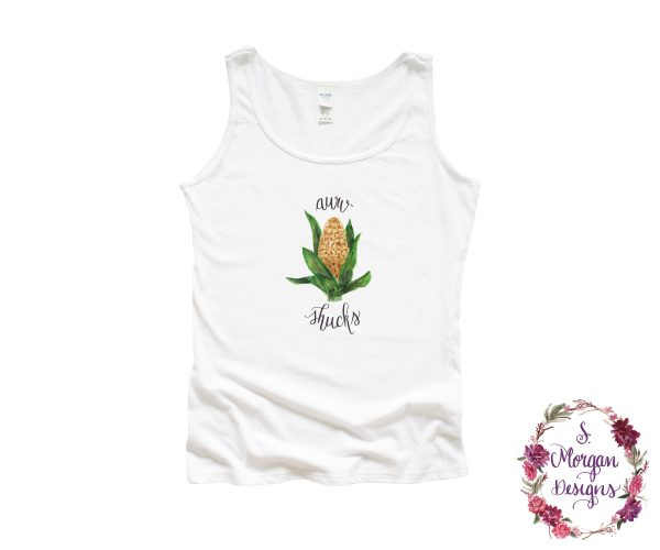 Aww Shucks Corn on the Cob Tank Top