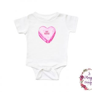Be Mine Sweetheart Candy Infant Romper