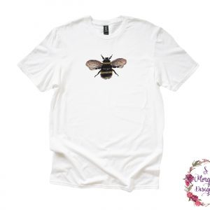 Watercolor Bumblebee Anvil Unisex T-Shirt