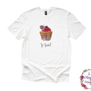 Watercolor Cupcake - So Sweet Anvil Unisex T-Shirt