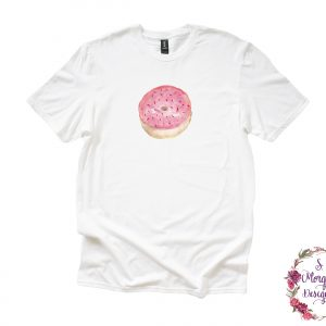 Watercolor Sprinkle Donut Anvil Unisex T-Shirts