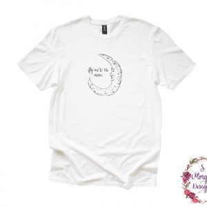 Fly Me to the Moon Art Anvil Unisex T-Shirt