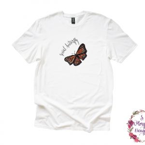 Beautiful Monarch Social Butterfly Anvil Unisex T-Shirt