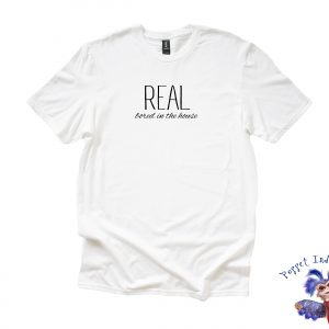 REAL bored in the house - White T-Shirt